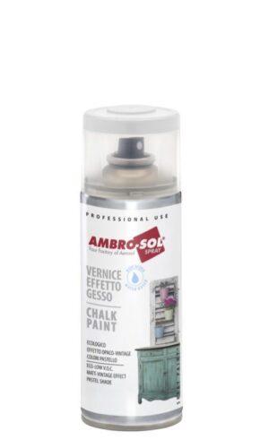 Aerosol de pintura esmalte efecto tiza