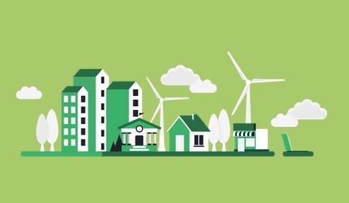 Infografía Mundo Verde y Sostenible